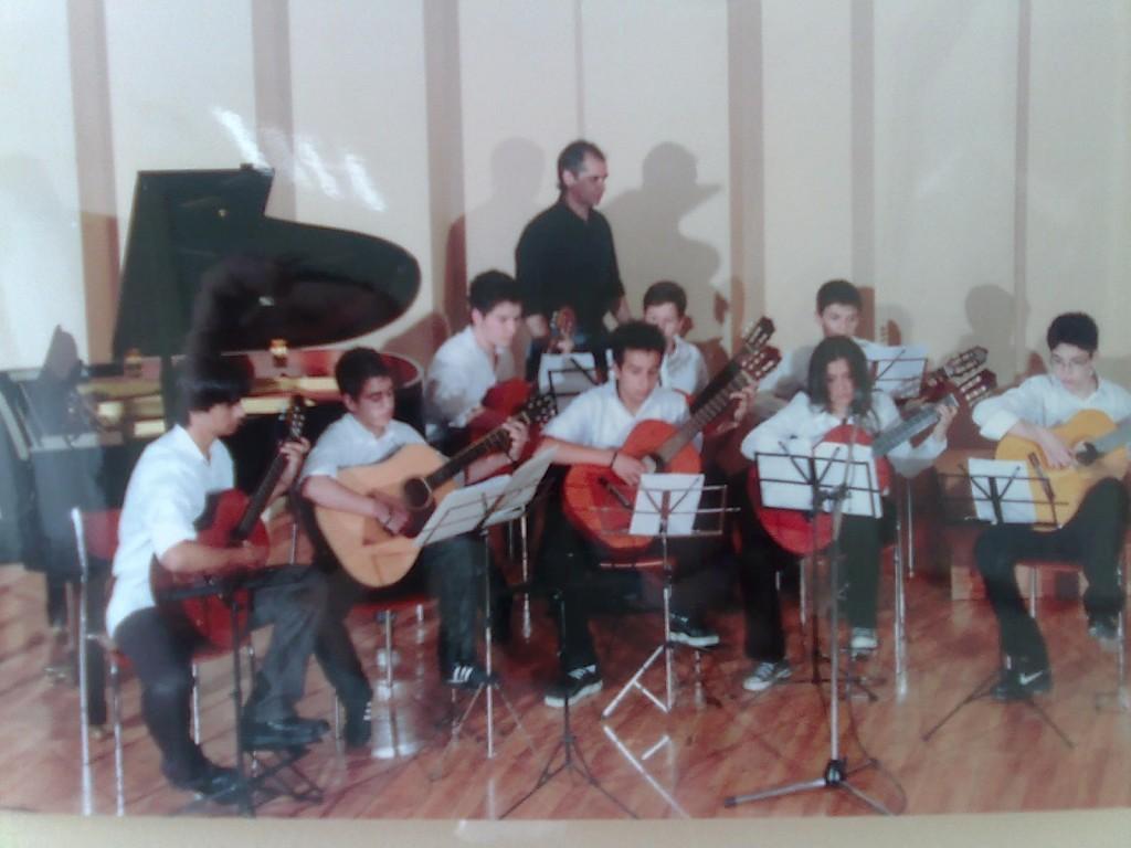 Συναυλία στο Παπαστράτειο Μέγαρο από σύνολο κιθαριστών